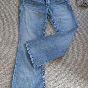 Silver suki boot cut jeans